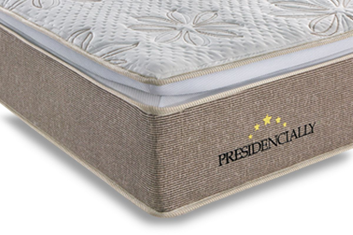 Colchão Sealy de Molas Pocket Presidencially Viscoelástico Euro Pillow