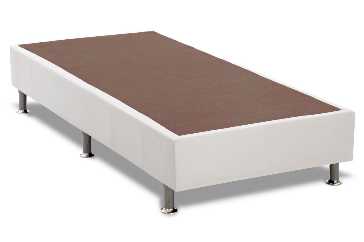 Cama Box Base Ortobom Couríno Bianco
