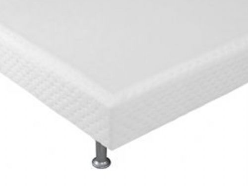 Cama Box Base Ortobom Light Tecido White 020