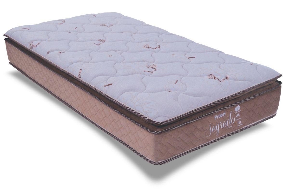 Colch o probel de molas pocket segredo pillow top costa for Cama queen costa rica