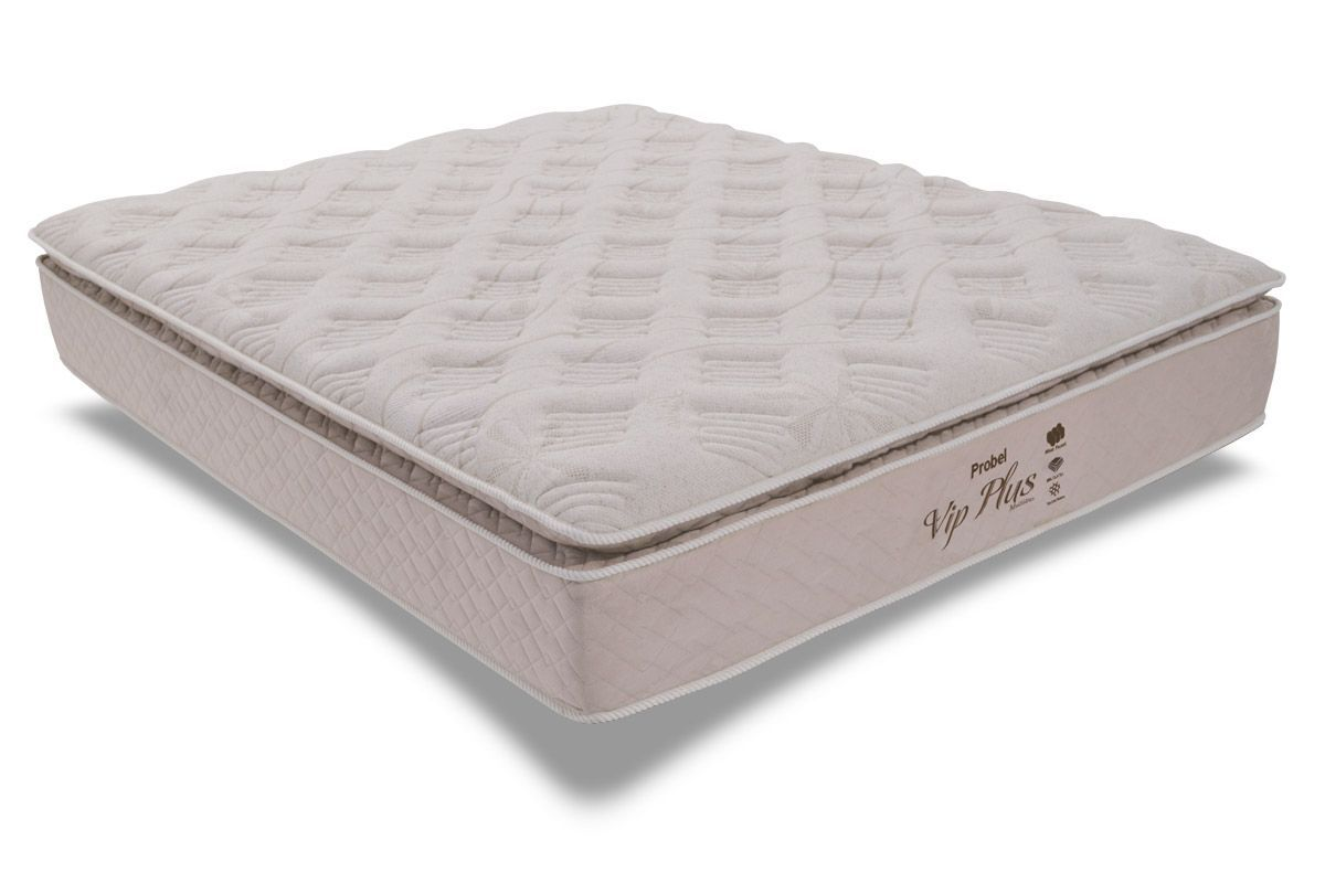 Colchão Probel de PocketPocket Vip Plus Latéx com Pillow Top