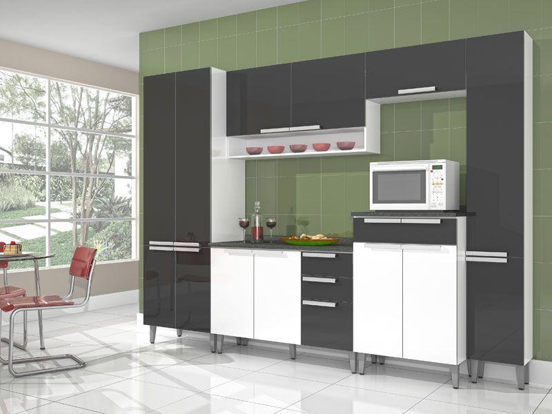Paneleiro de Cozinha Itatiaia Suprema IPLA-35 Madeira Simples Alto c