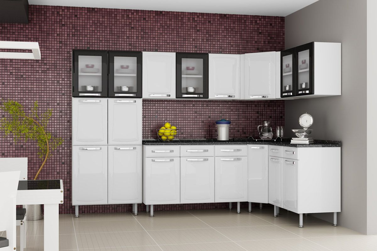 Gabinete de Cozinha Itatiaia Itanew IG1GD40 Cor Branco  Costa Rica Colchões # Armario De Cozinha Ferreira Costa