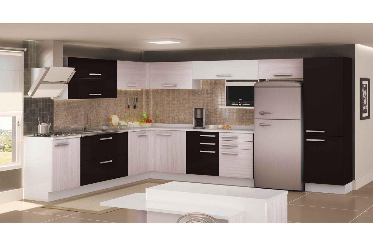 Tampo de Balcão de Cozinha Kappesberg Urban S510 Madeira (P/Gabinete  #B13018 1200 800