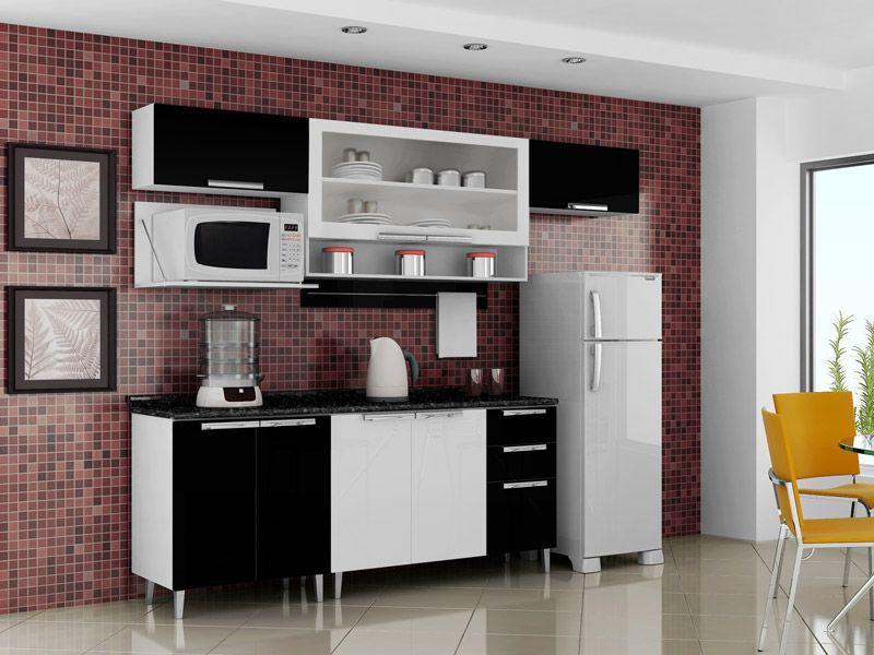 Artesanato Brasil Maringa ~ Wibamp com Armario Aereo De Cozinha Com Nicho Para Microondas ~ Idéias do Projeto da Cozinha