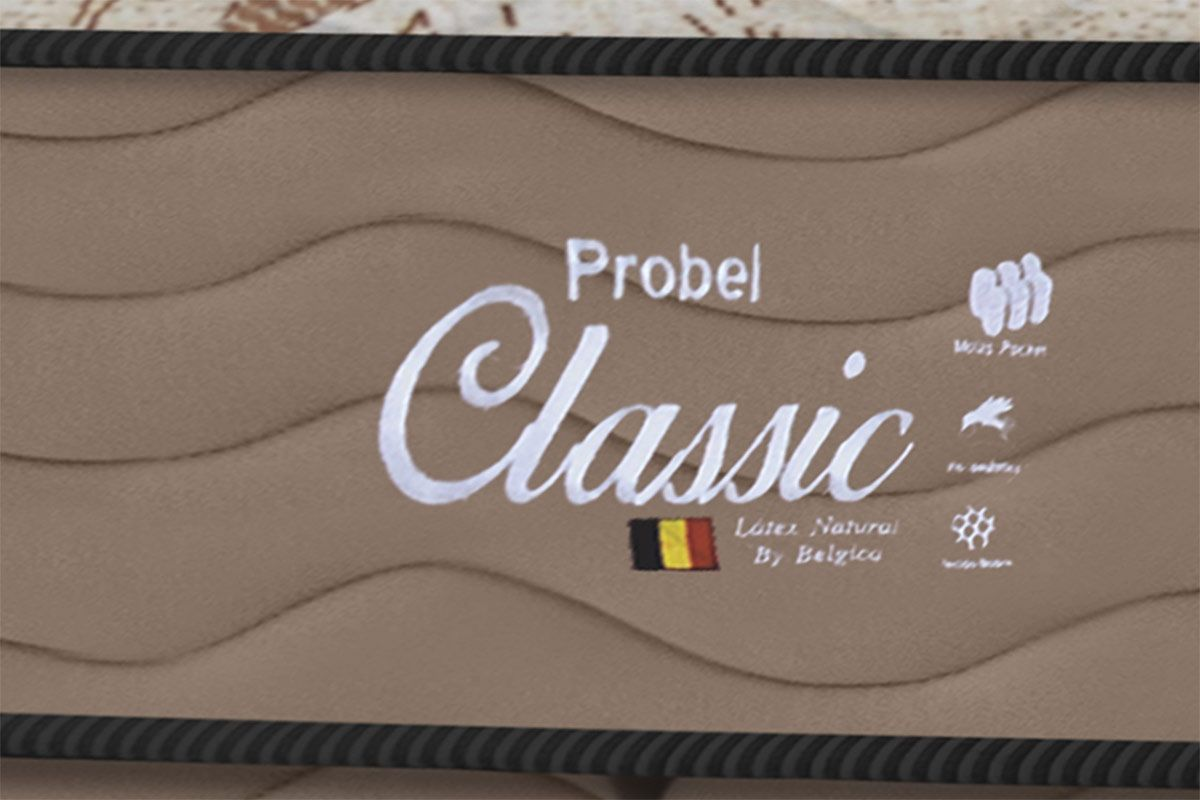 Colchão Probel de Molas Pocket Classic Látex Euro Pillow