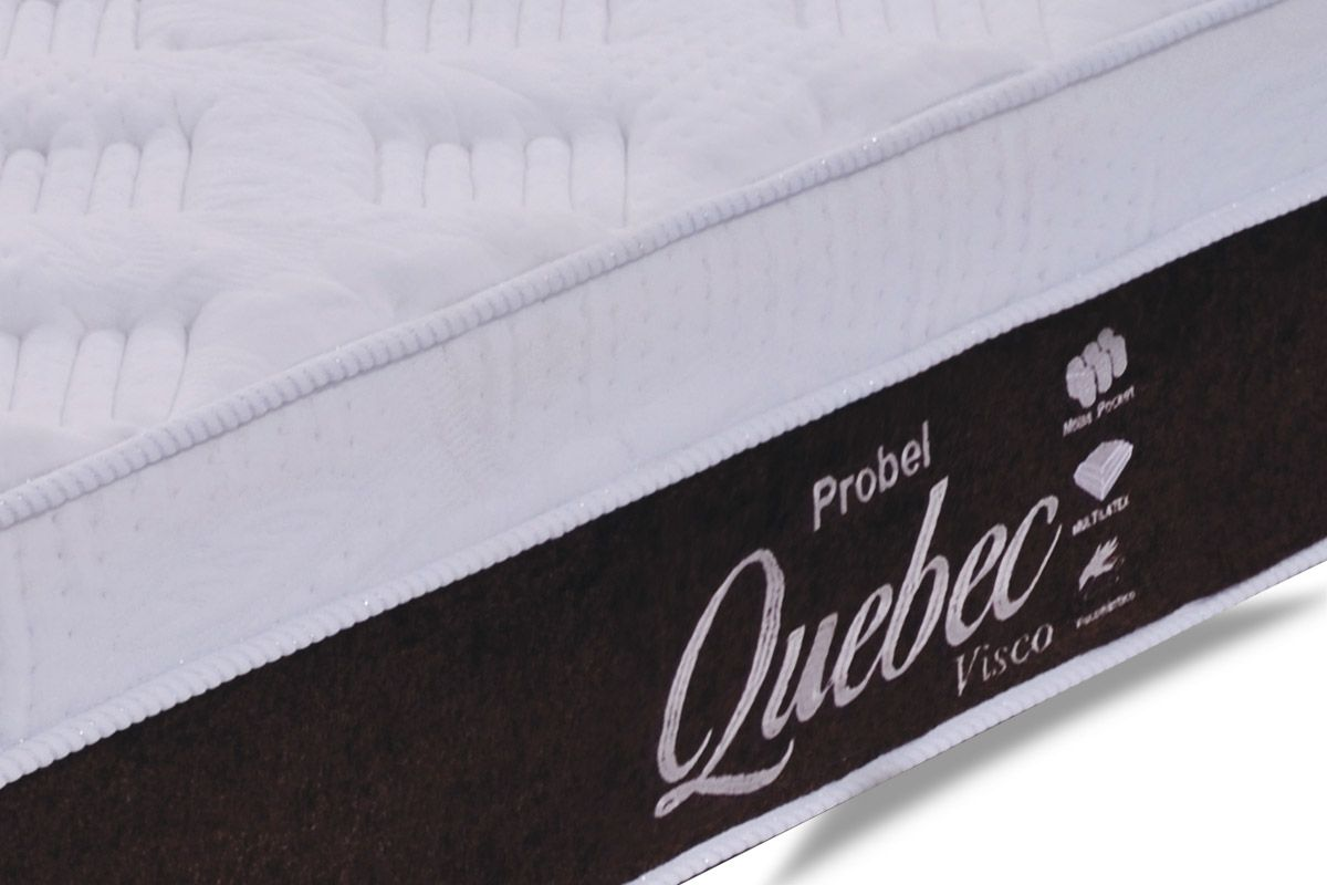 Colchão Probel de Molas Pocket Quebec Euro Pillow