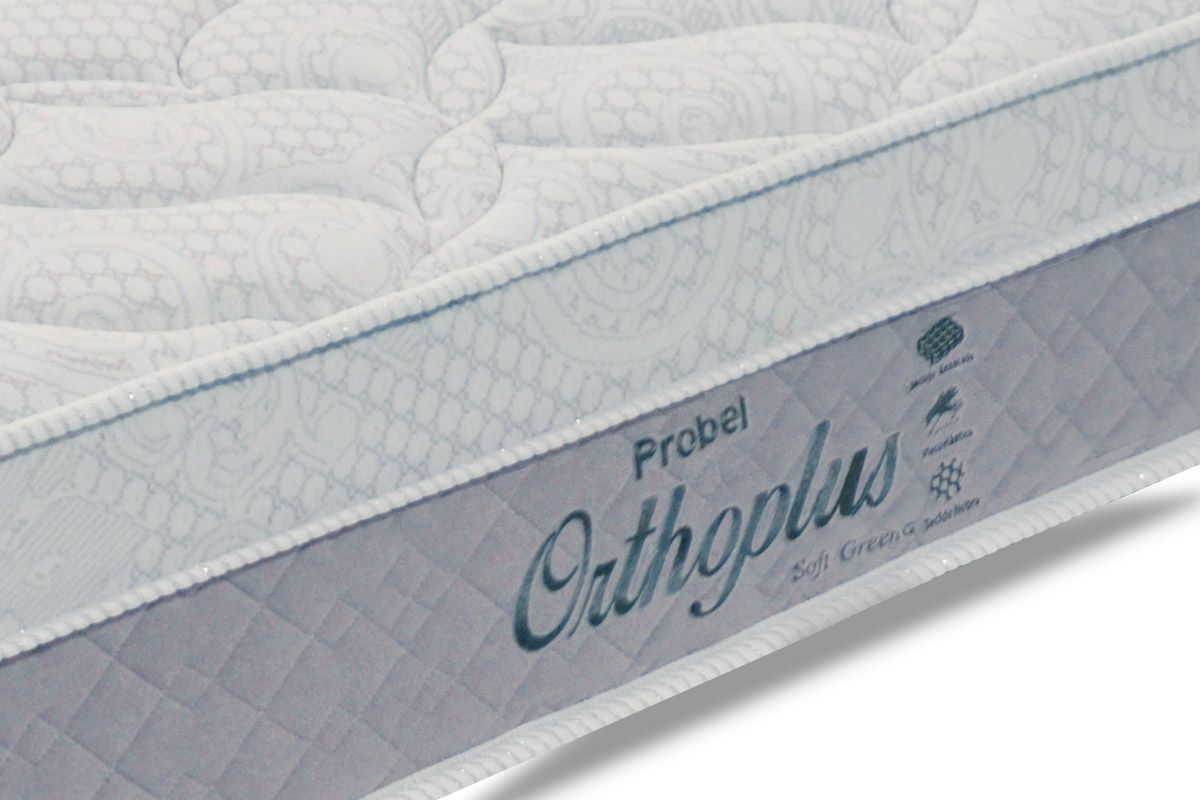 Colchão Probel de Molas Prolastic Orthoplus Soft Green Euro Pillow