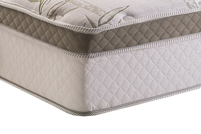 Colchão Herval de Molas Pocket Monte Carlo Visco HR  Pillow Top