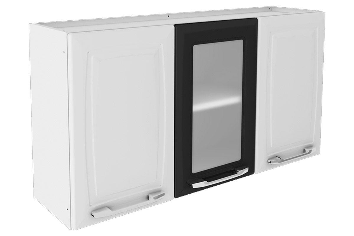 Decoração Aparador Atras Do Sofa ~ Armário de Cozinha Itatiaia Aéreo Criativa IP31V 105 MX Aço c 3 Portas e 1 de Vidro 105cm