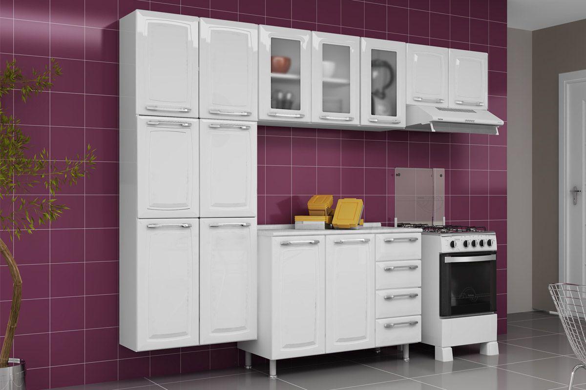 Armário de Cozinha Itatiaia Aéreo de Geladeira Criativa IPG2 70 Aço  #9A7831 1200 800