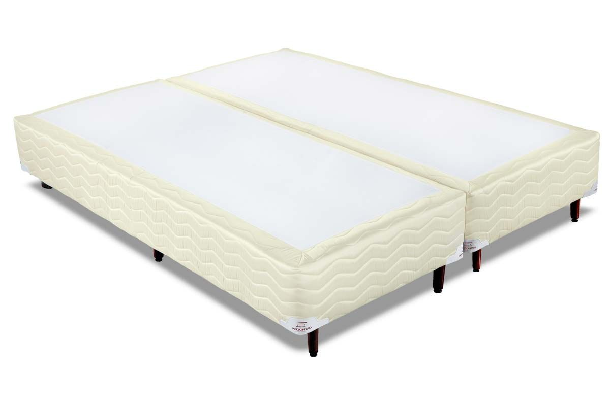 Cama Box Orthocrin Sommier Plus Bege
