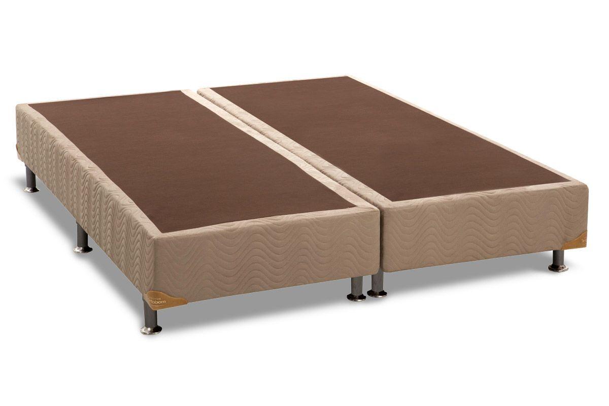 Cama box base americana camur a crema 23 sob medida for Base cama king size medidas