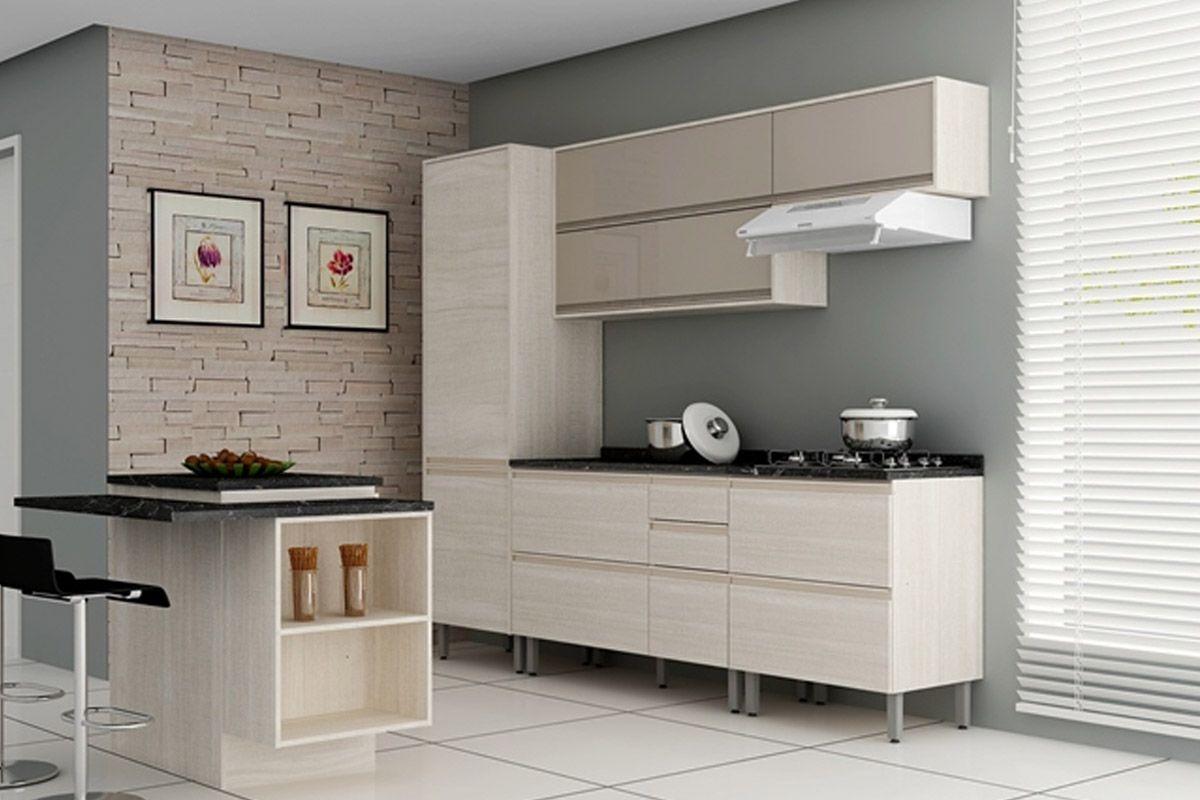 Cozinha Cozinhas Completa Cozinha Completa Itatiaia Belíssima de  #5F4C40 1200 800