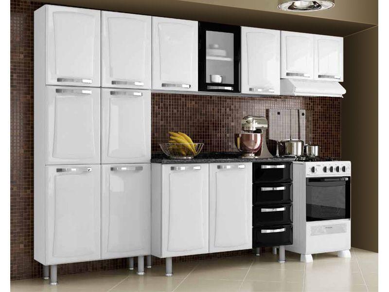 Cozinha Completa Itatiaia Itanew de Aço Kit 4 Peças CZ30