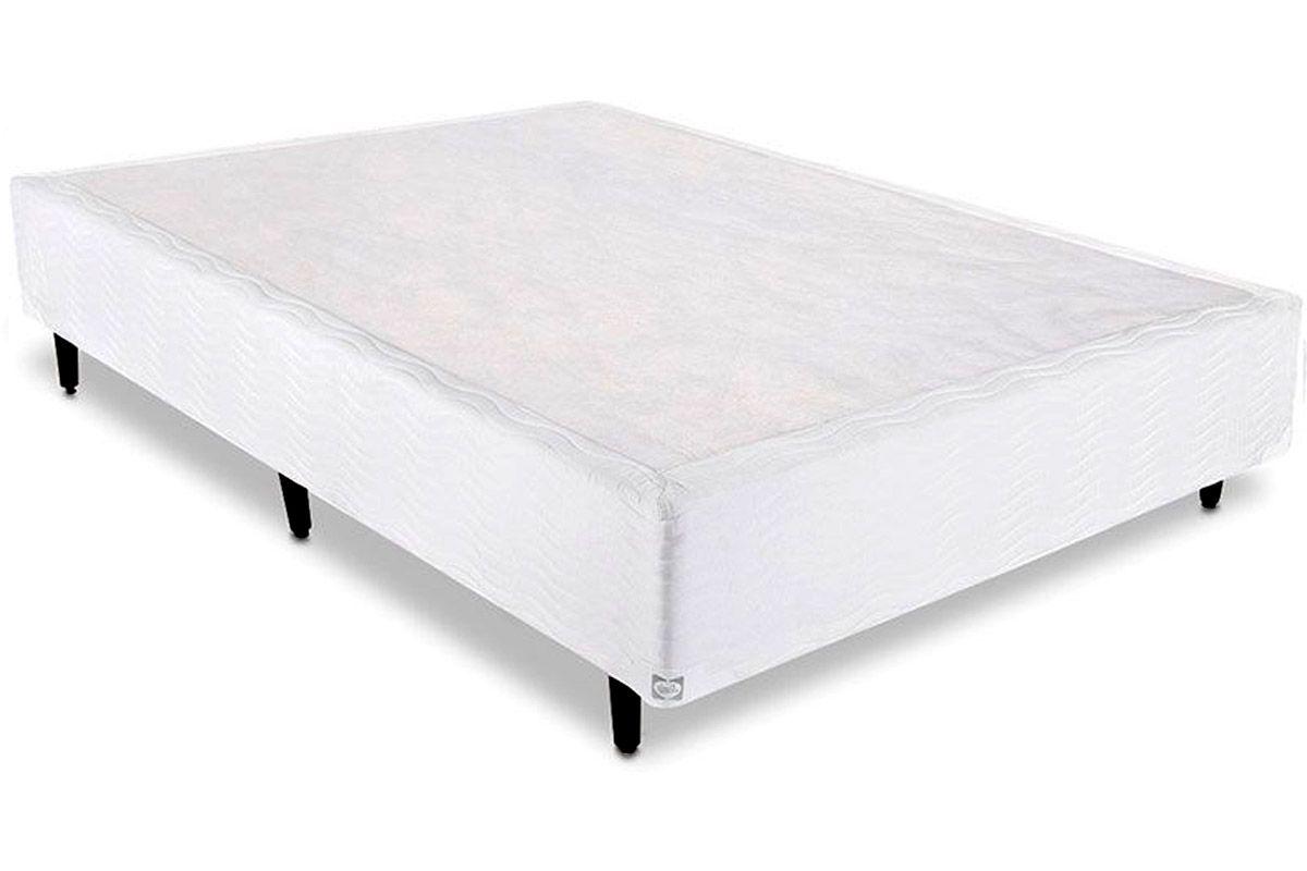 Cama box base sealy universal white costa rica colch es for Base cama king size medidas