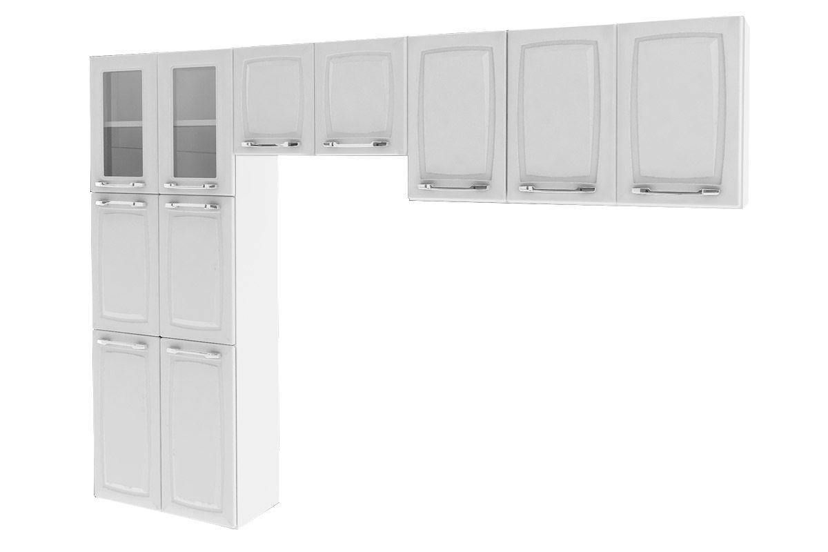 Cozinha Compacta Itatiaia Criativa (COZ MXII 2V) Cor Branco Costa  #525252 1200 800