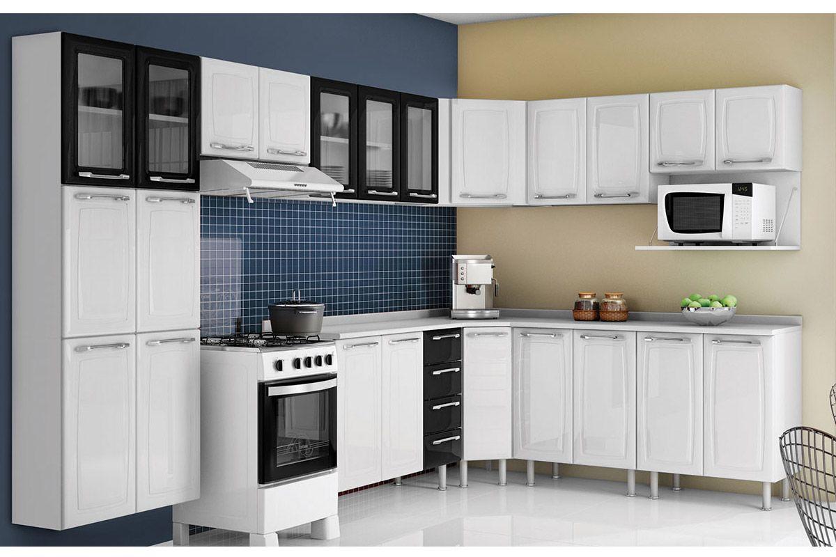 Cozinha Completa Itatiaia Criativa COZ MXII 5V Aço (Paneleiro  #678249 1200 800