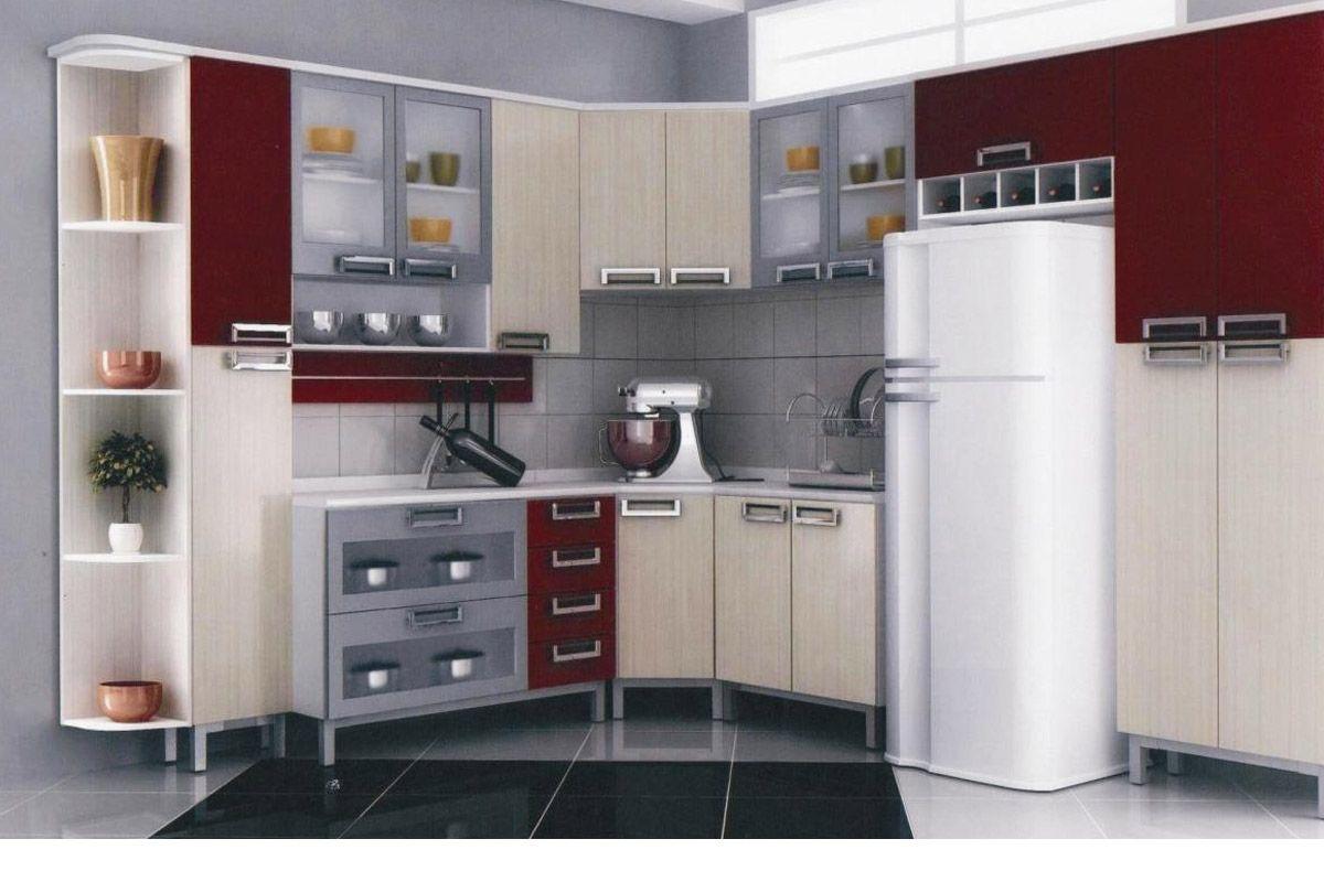 Cantoneira Grande de Cozinha Itatiaia Multilinhas ICG Aço Cozinha  #5E2B2C 1200 800