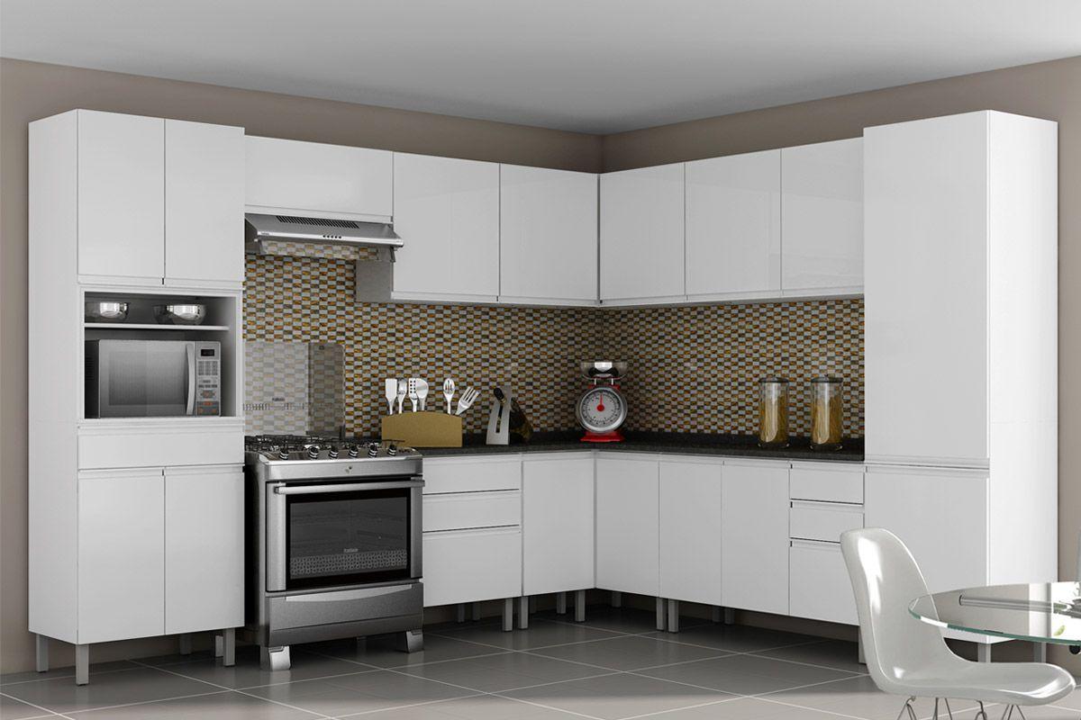 Gabinete (Balcão) de Cozinha Itatiaia Stilo Plus IGC Aço Canto Reto  #5B4E3C 1200 800