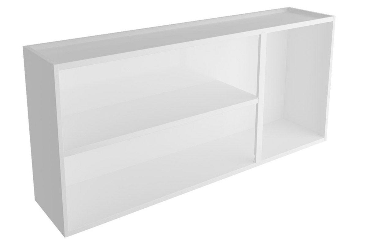 Armário de Cozinha Itatiaia Premium Aço 3 Portas c/ vidro Cor Branco  #666666 1200x800