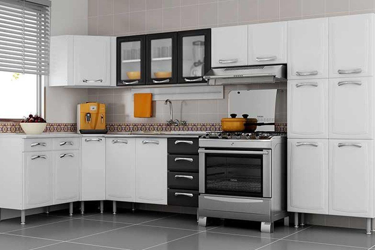 #AC6C1F Armário de Cozinha Itatiaia Aéreo Premium IPV3 120 NG Aço c/ 3  1200x800 px Armario De Cozinha Compacto De Aço #2001 imagens