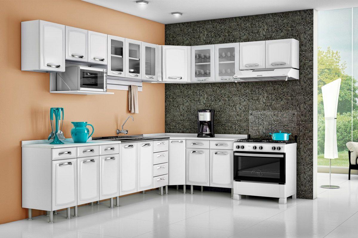 Cozinha Completa Itatiaia Premium de Aço c/ 11 Peças CZ25 Cozinha  #167C83 1200 800