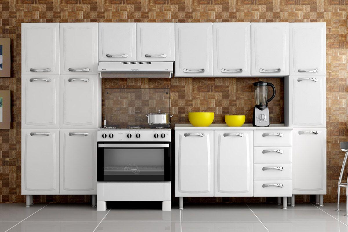 #C3B408 Paneleiro de Cozinha Itatiaia Premium Duplo IPLD 80 Aço c/ 6 Portas  1200x800 px Casas Bahia Armario De Cozinha Itatiaia Premium #1659 imagens