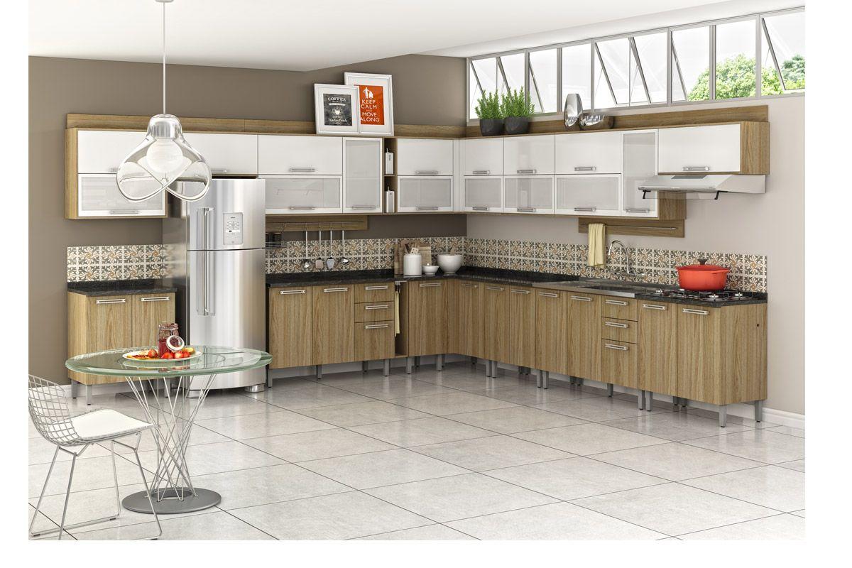 de Cozinha Itatiaia Audace IPH2 1V 70 Madeira Horizontal c/ 2 Portas #A93E22 1200x800