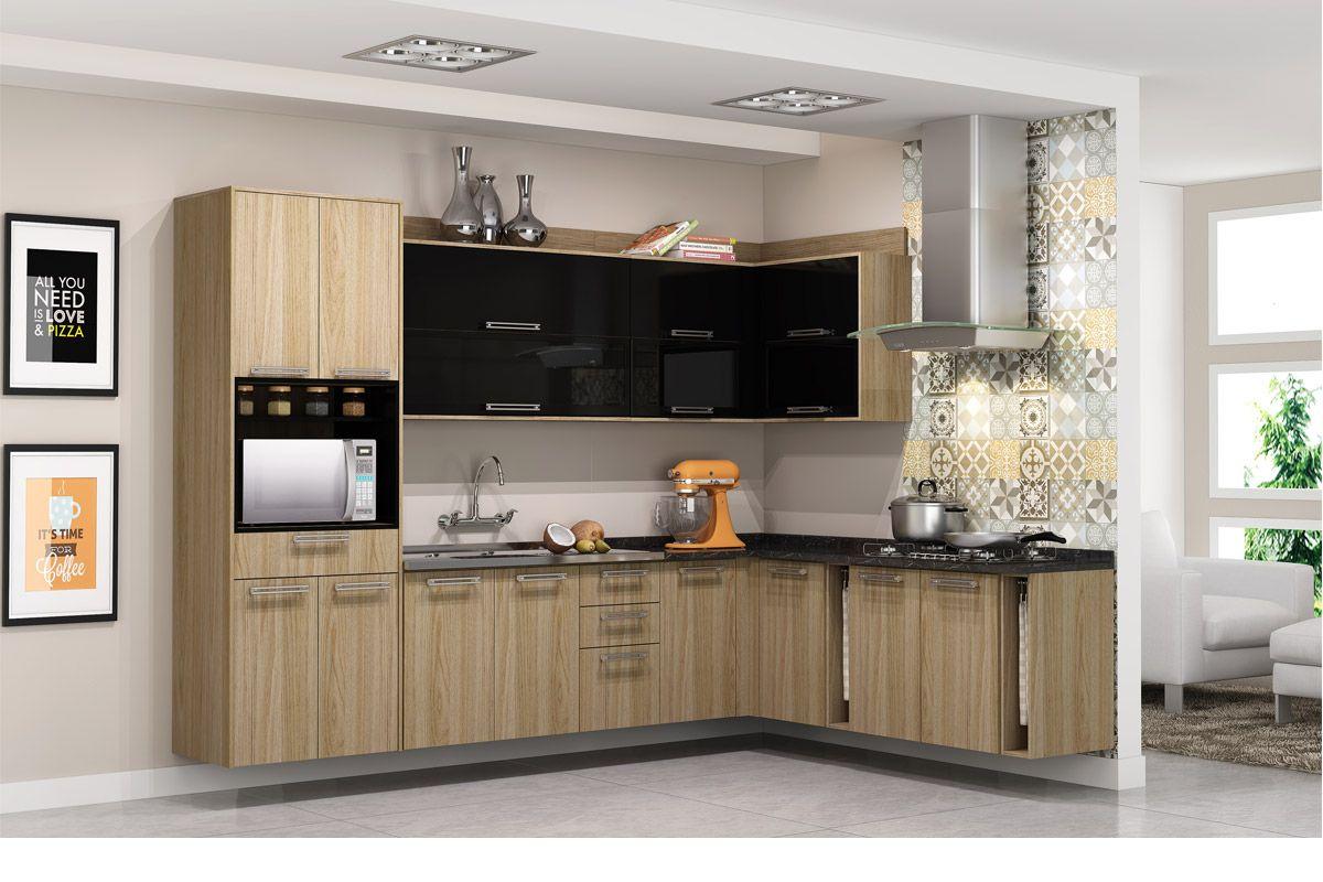 Paneleiro de Cozinha Itatiaia Audace IPLDAFNO 70 Madeira Torre Quente  #A36528 1200x800