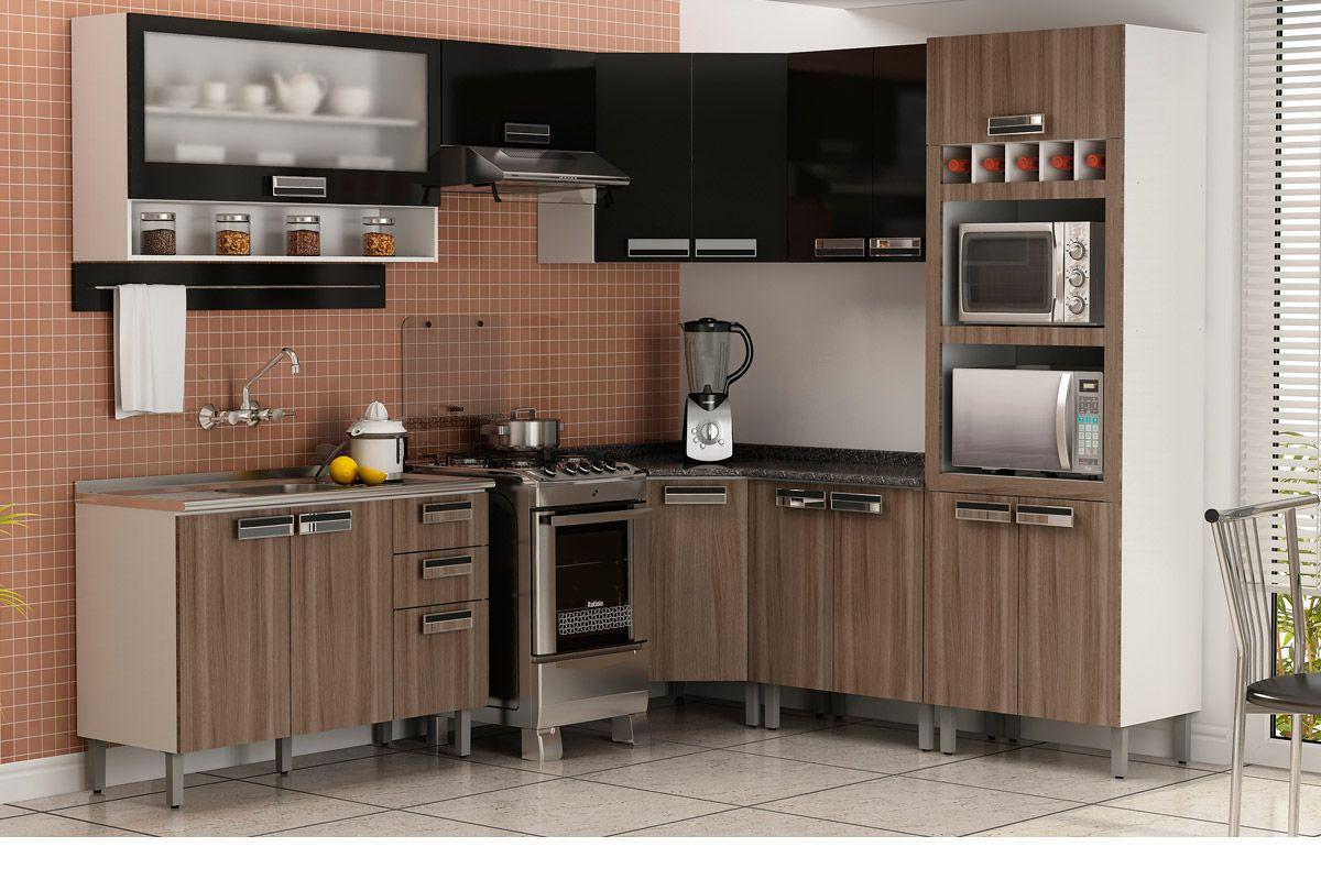 de Cozinha Itatiaia Amare IP2 70 Madeira c/ 2 Portas 70cm Cozinha  #B99C12 1200x800