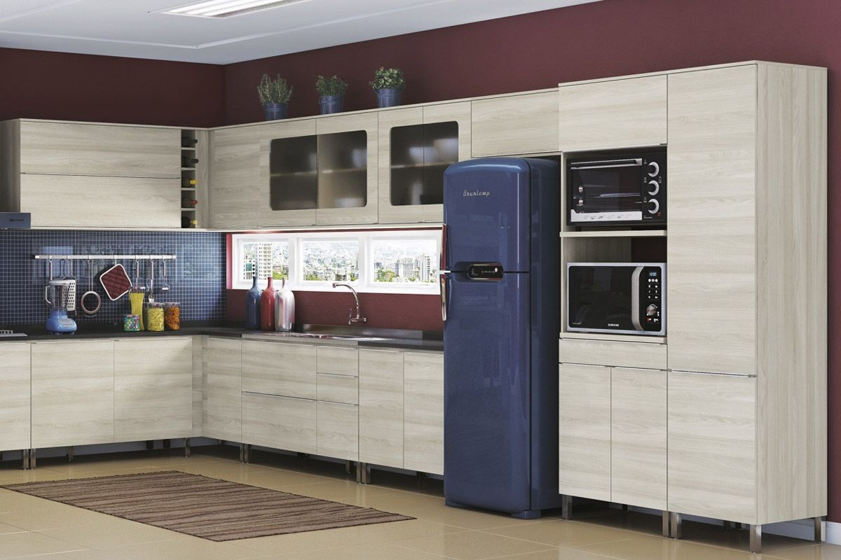 Paneleiro De Cozinha Kappesberg Unique A658 Madeira Para Microondas 2  #614041 1200 800