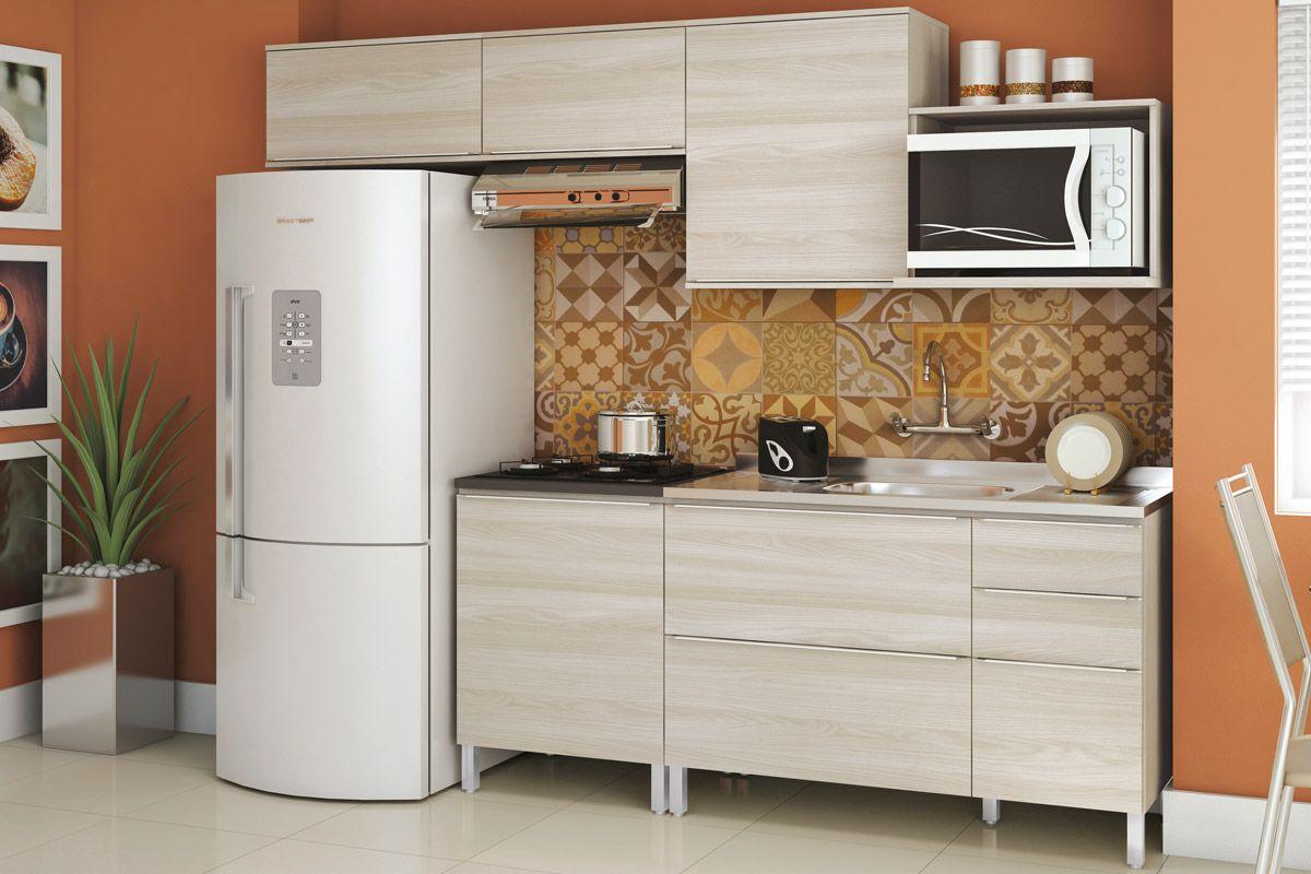 Armário de Cozinha Kappesberg Aéreo Versatti C668 Madeira c/ 1 Porta  #945D37 1200 800
