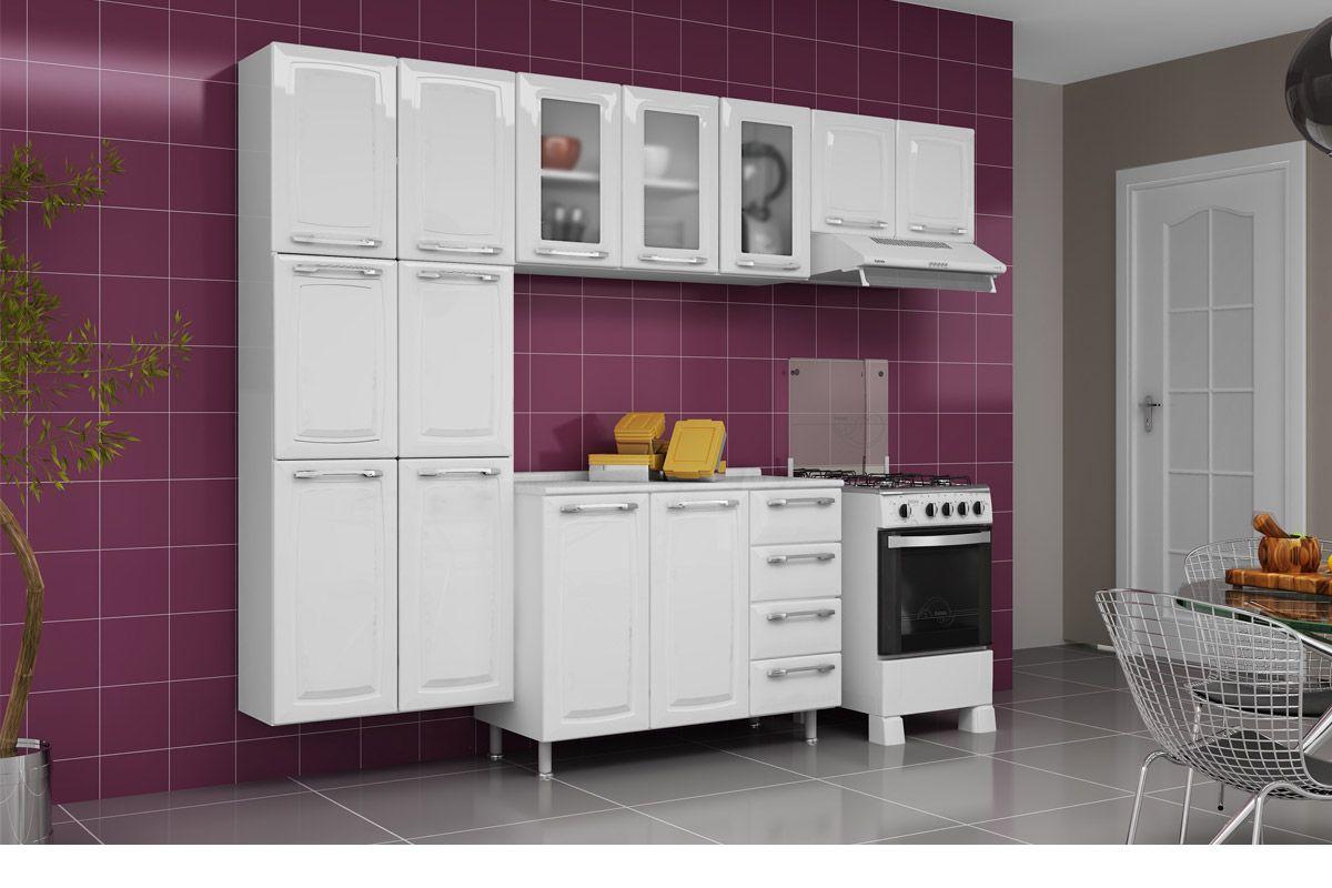 #9B7730 Armário de Cozinha Itatiaia Criativa IPV3 105 MX Aço c/ 3 Portas c  1200x800 px Armario De Cozinha Em Aço Completo Casas Bahia_1596 Imagens