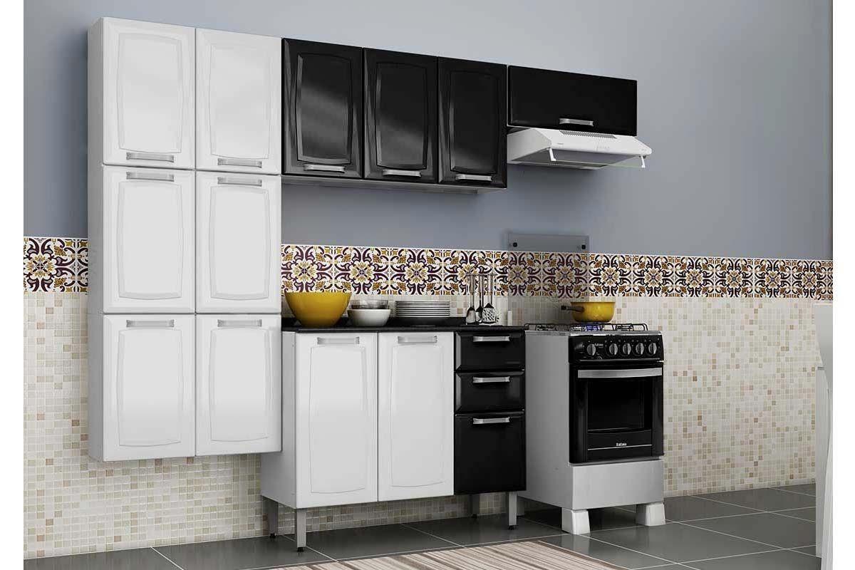 Arm Rio De Cozinha Itatiaia Luce Ip3 105 A O C 3 Portas 105cm
