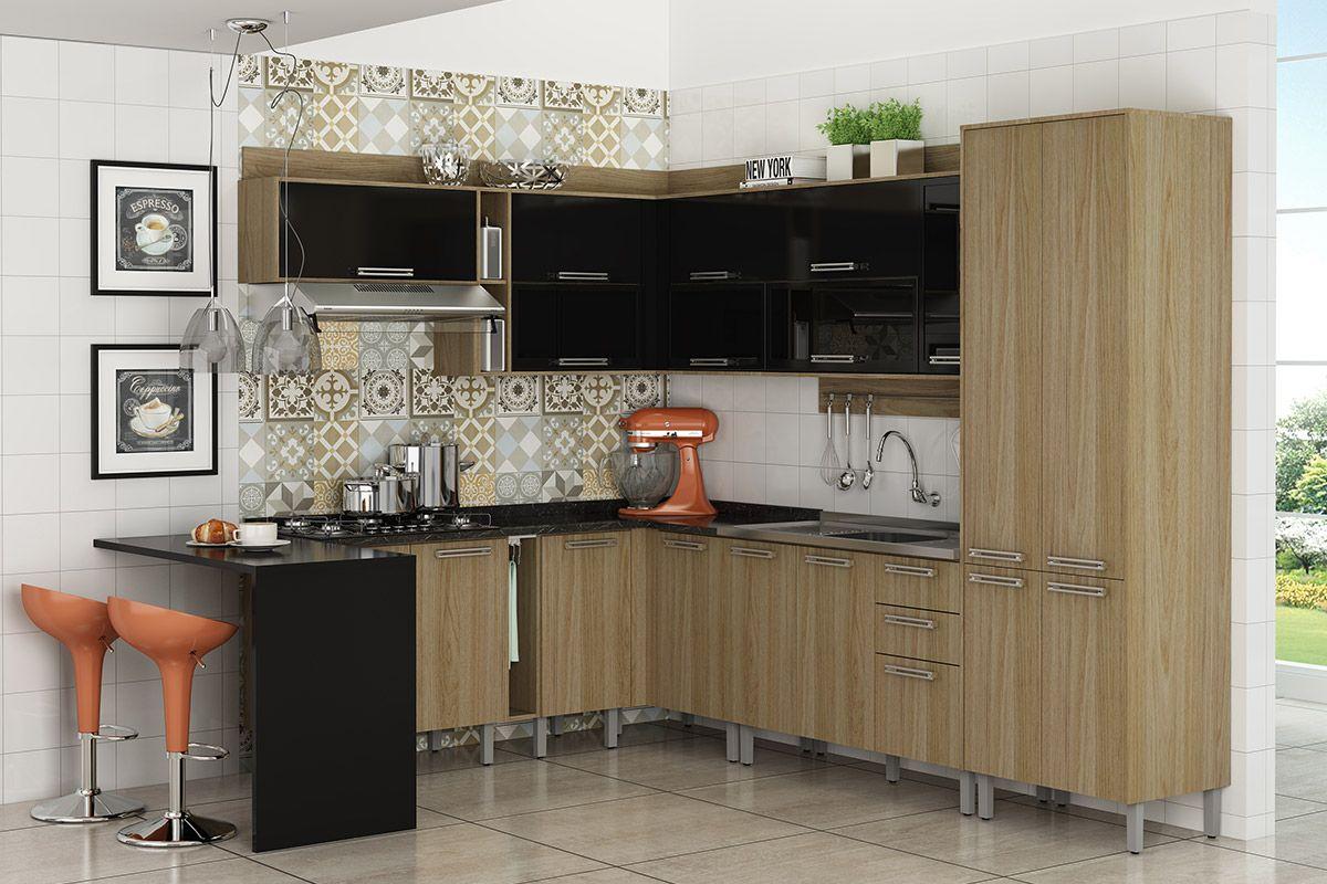 Armário de Cozinha Itatiaia Audace Madeira 1 Porta Horizontal 70cm  #935438 1200x800