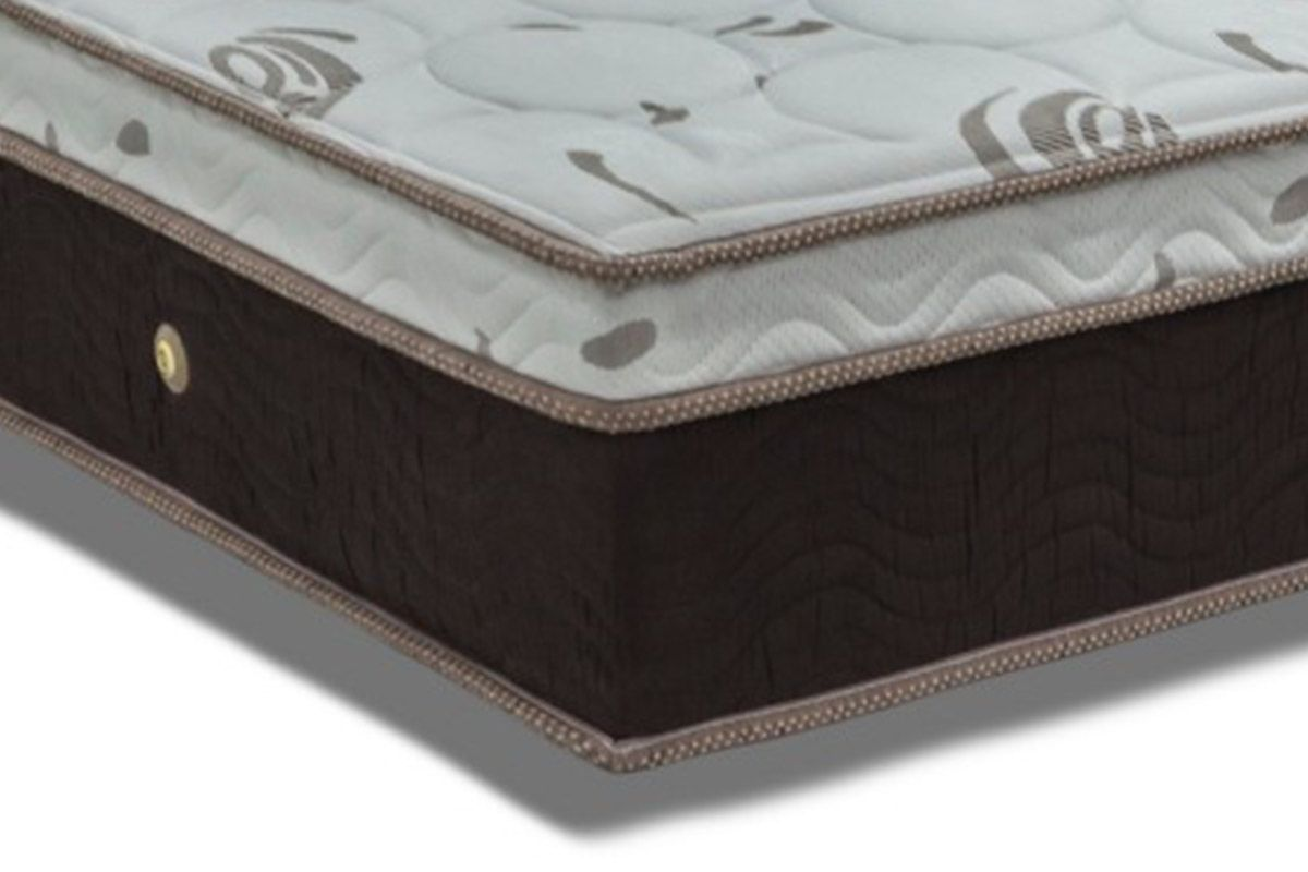 Colchão Ortobom de Molas Pocket  Sleep King Látex Euro Pillow