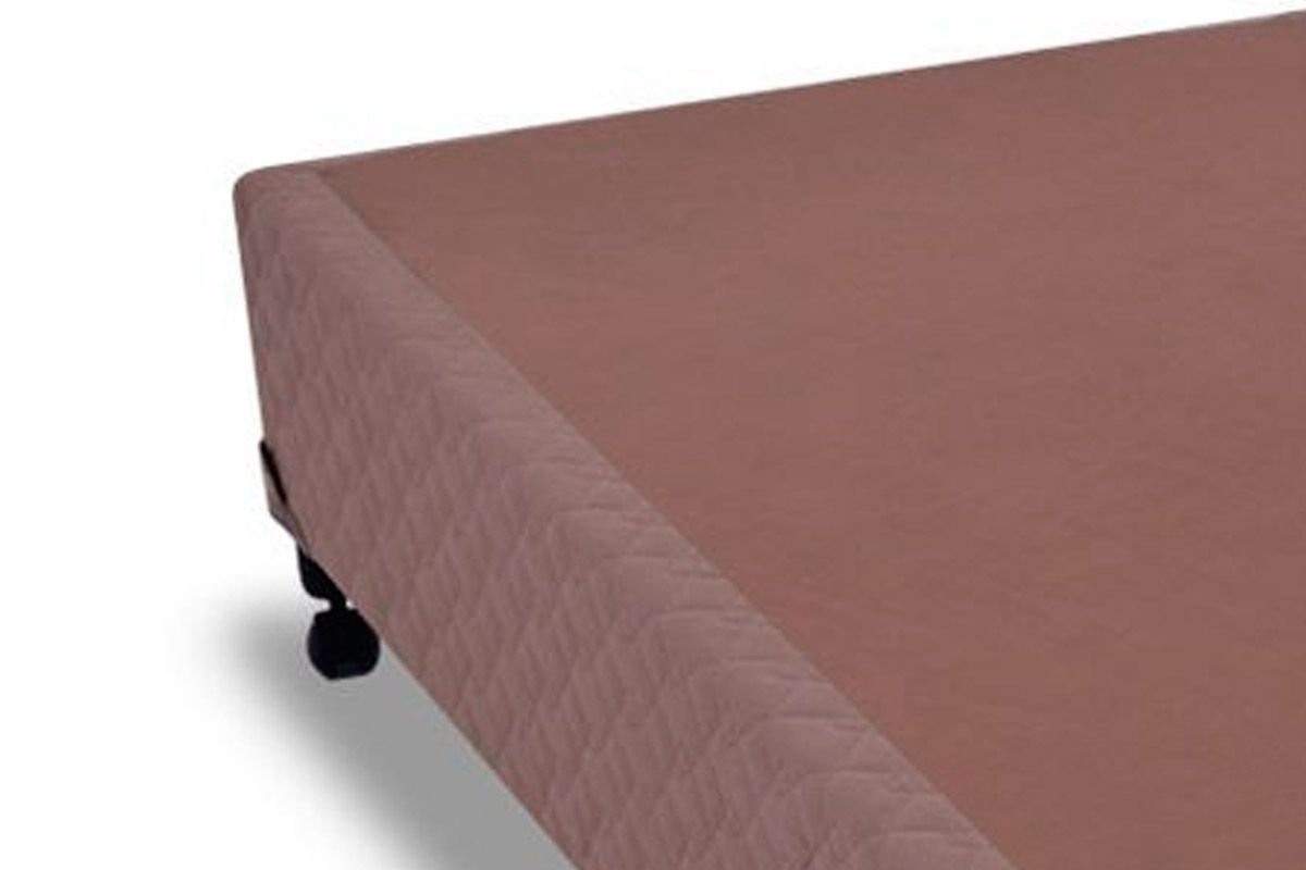 Cama Box Base Probel Suede Camurça