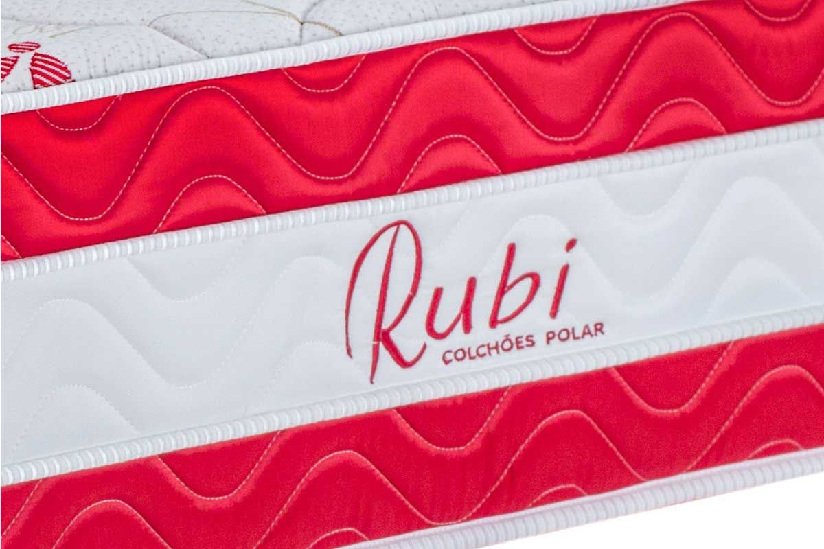 Colchão Polar de Molas Superlastic Rubi Euro Pillow