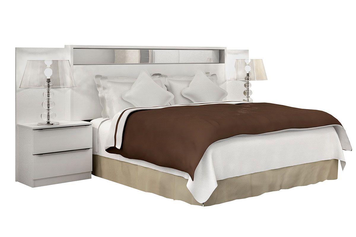 Cabeceira de cama box casal queen novo horizonte vetro for Cama queen costa rica
