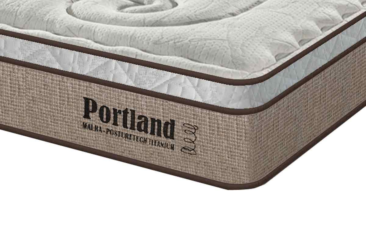 Colchão Sealy de Molas Posturepedic Portland Euro Pillow