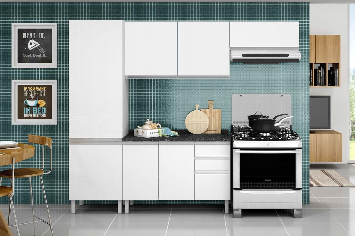 Arm Rio De Cozinha Itatiaia Clarice Ipv2 120 2 Portas Colchoes  ~ Armario Para Cozinha Itatiaia