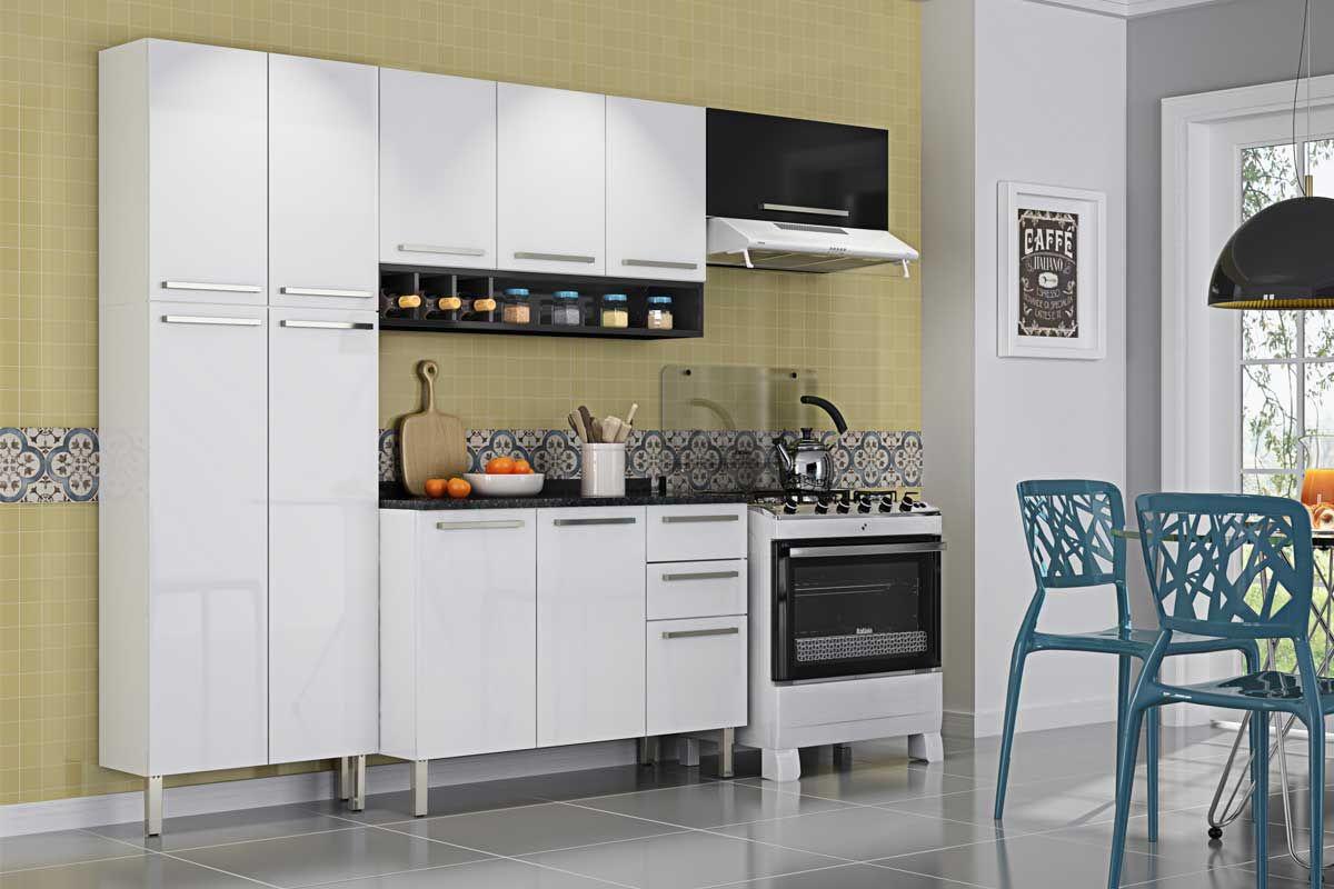 Armarios De Cozinha Itatiaia 3 Pictures to pin on Pinterest #304E5F 1200 800