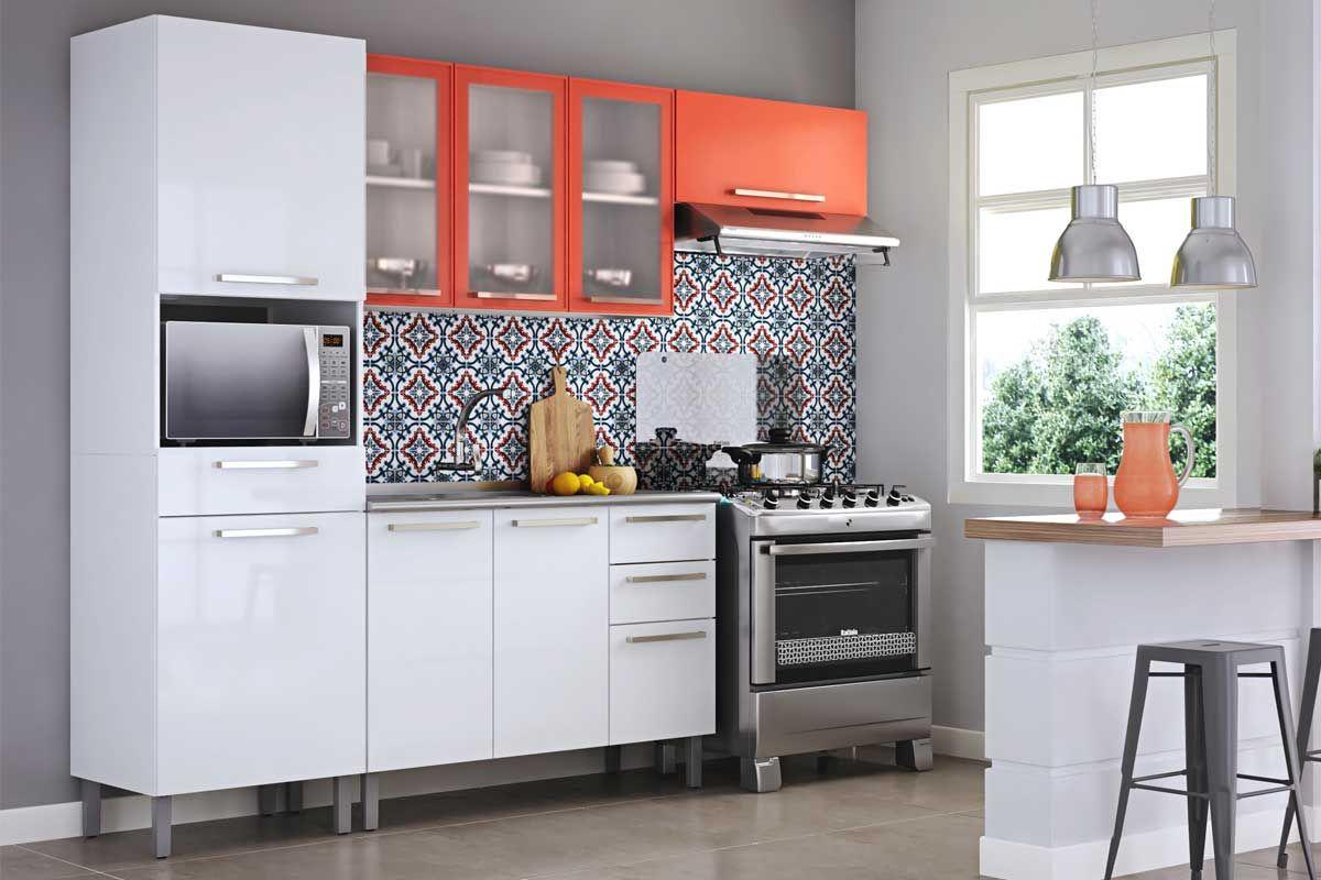 Casas Bahia Armario De Cozinha Itatiaia Completo Oppenau Info