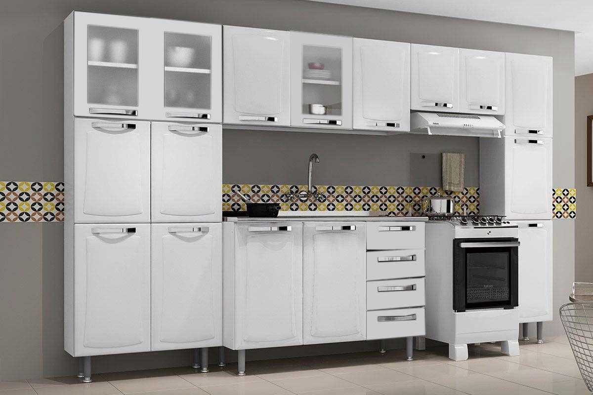 Cozinha Completa Itatiaia Itanew De A O C 5 Pe As 2 Paneleiros 2