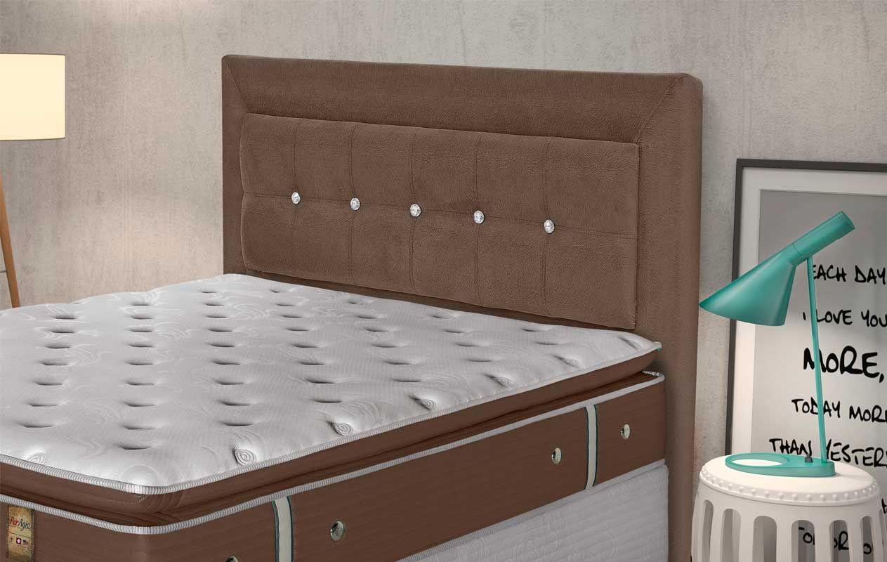Cabeceira de cama box queen size simbal madri costa rica for Cama queen costa rica