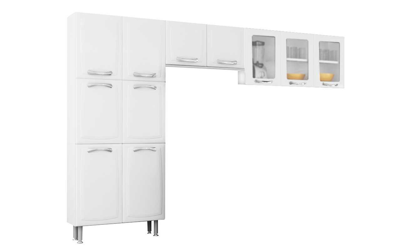 Cozinha Completa Itatiaia Premium De A O 3 Pe As Paneleiro 2