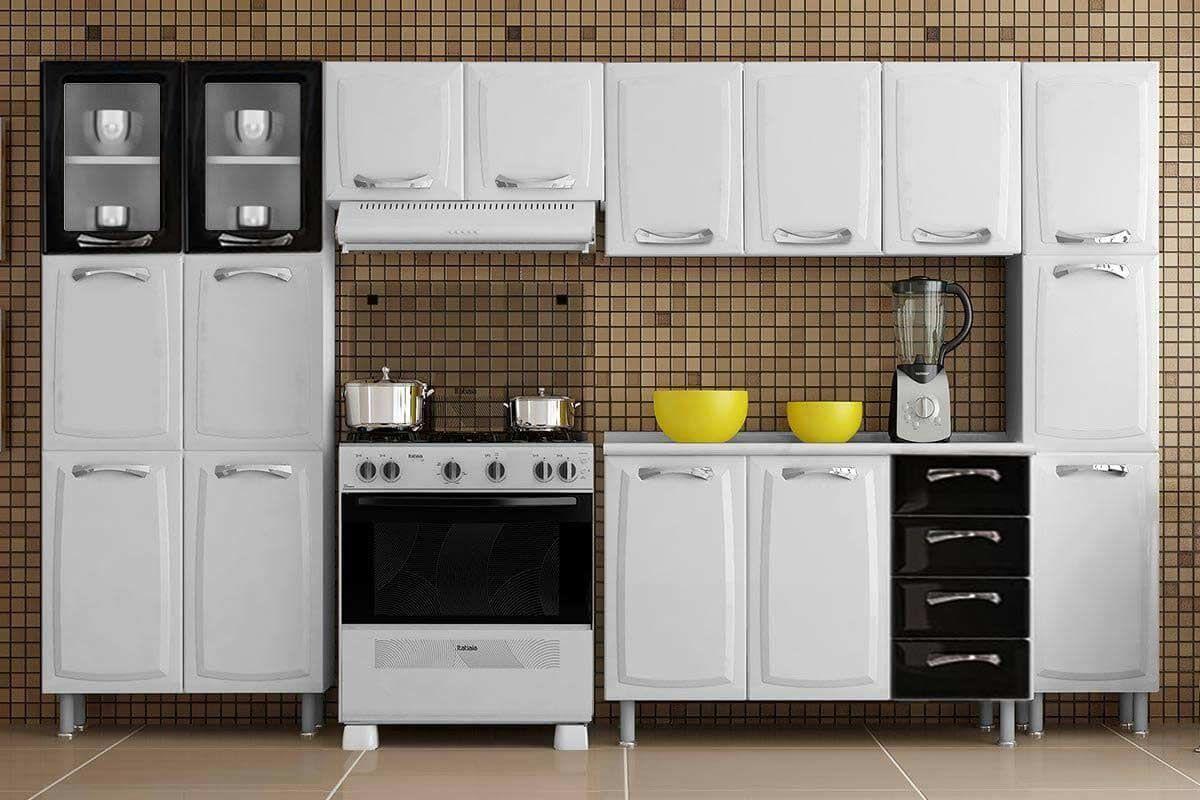 Cozinha Completa Itatiaia Premium De A O C 5 Pe As 2 Paneleiros 2