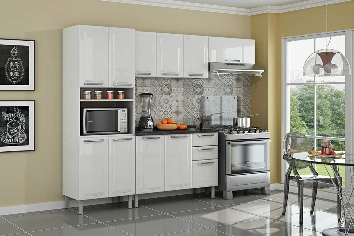 Cozinha Completa Itatiaia Tarsila De A O C 4 Pe As Paneleiro 2