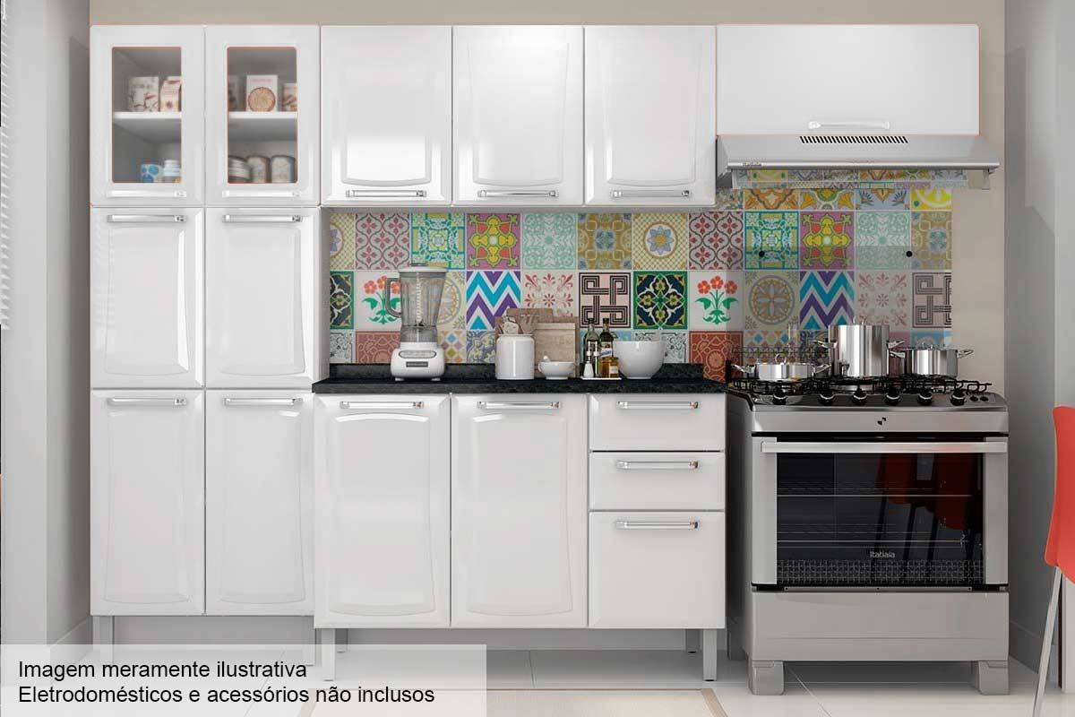 Cozinha Completa Itatiaia Tarsila De A O C 4 Pe As Cz78 Branco C